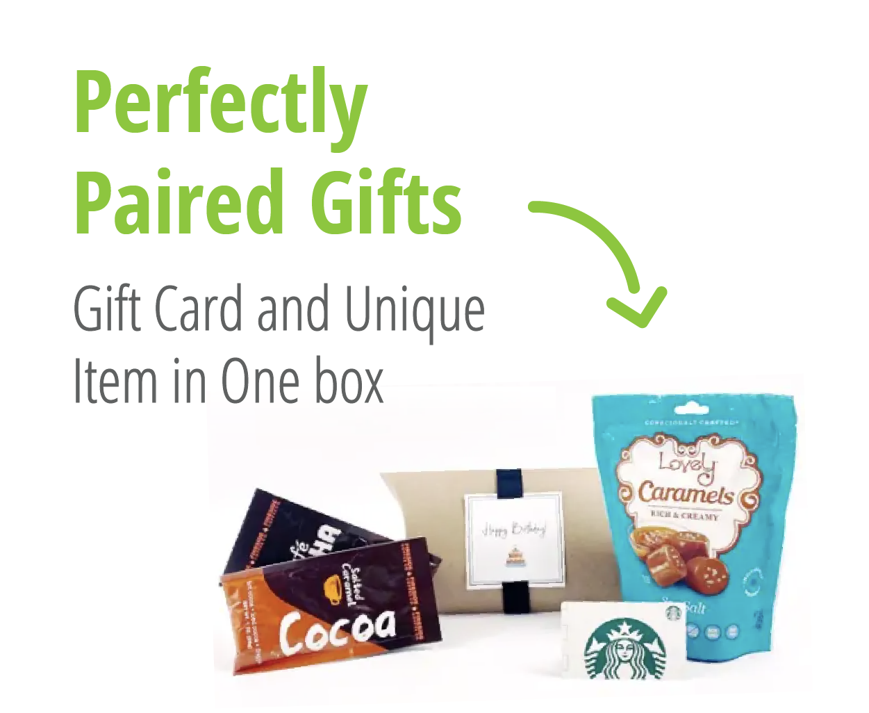Perfectly Paired Gifts - Buy Gift Cards