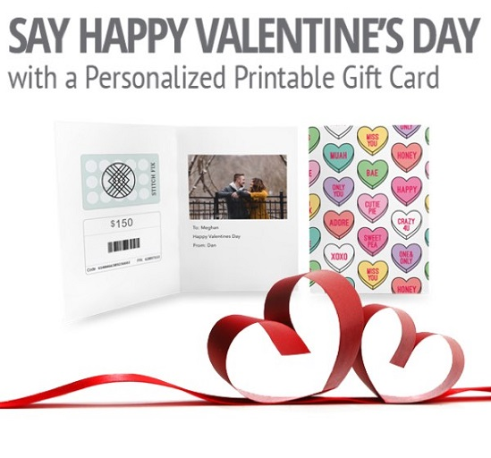 Valentine's Day gift cards - Buy gift cards now
