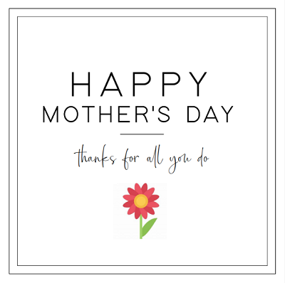 Mother's Day Sayings For Cards