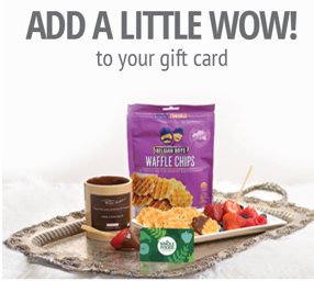 Add a Little Wow to Your Gift Card